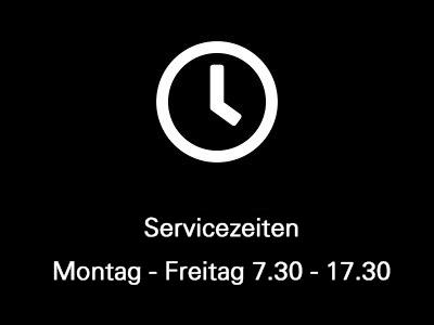 Servicezeiten