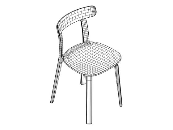 Vitra All Plastic Chair CAD 2