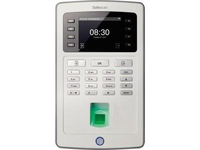 SAFESCAN Zeiterfassungssystem TA-8025 125-0489 lichtgrau - lichtgrau