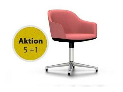 Vitra Softshell Chair Viersternfuss