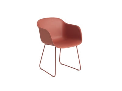 Muuto Armchair Sled Base