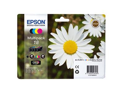 Tintenp Multi Epson C13T18064012 b/y/m/c ATRONEN PACK