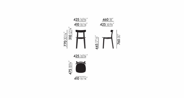 Vitra All Plastic Chair Masse