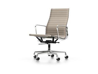 Vitra Aluminium Chair EA 119 Leder