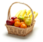 Obstkorb Einfacher Mix 20 Portionen
