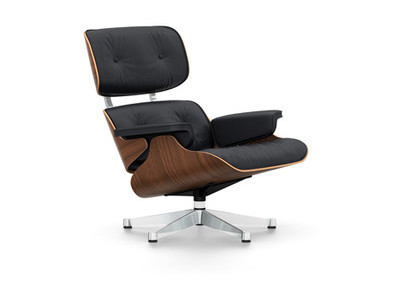 Vitra Lounge Chair Nussbaum