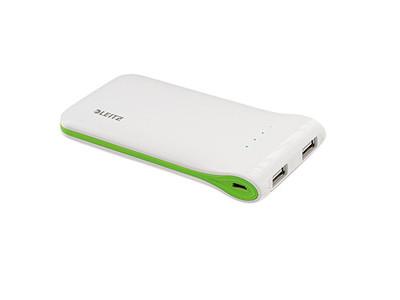 Ladegerät Leitz 6413 Complete USB weiß 61x17x114mm USB tragbar weiß