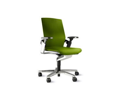Wilkhahn ON 174/7 Fiberflex-Bezug grün