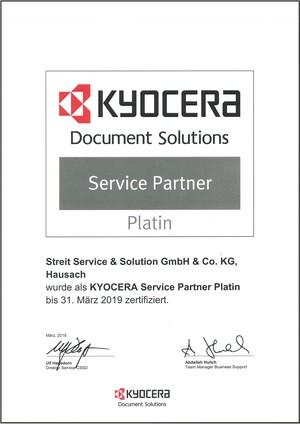 Kyocera Platin Partner