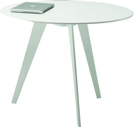 MuellerMM Tisch rund weiß