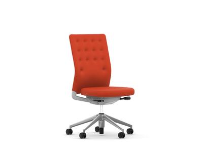 Vitra ID Chair ID Trim ohne Armlehnen Stoffbezug Plano orange
