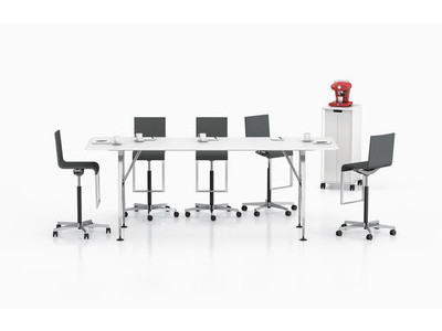 Vitra Ad Hoc High Meeting Table