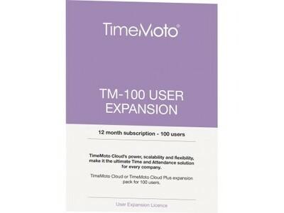 Cloud TimeMoto Erweiterung +100 User +