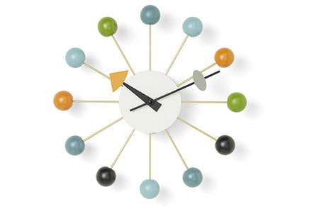 Vitra Ball Clock mehrfarbig