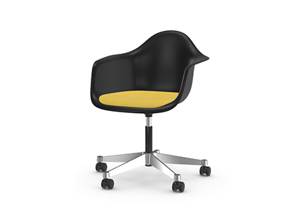 Vitra Eames Plastic Armchair PACC mit Sitzpolster