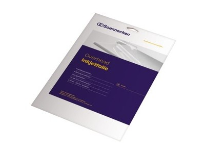 Kopierfolie Soennecken 5505 A4 0,10MM