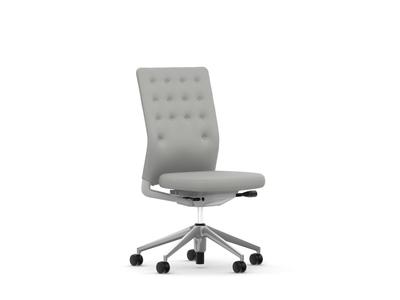 Vitra ID Chair ID Trim ohne Armlehnen Stoffbezug Plano cremeweiss/sierragrau