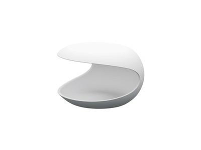 Zanotta Beistelltisch White Shell
