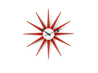Vitra Wall Clock Sunburst