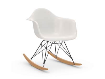 Vitra Eames Plastic Armchair RAR, Holzkufen Ahorn gelblich