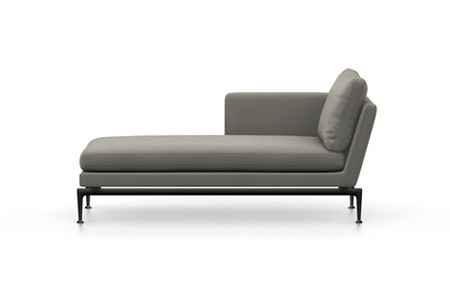 Vitra Suita Sofa Chaise Longue Klein Credo Basic Dark Fest