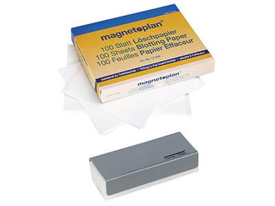 Magnetoplan Tafellöscher ferroscript 12295 magnetisch grau
