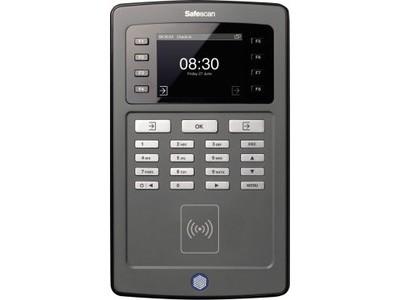 Zeiterfassungssystem Safescan TA-8010 SCHWARZ