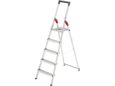 Leiter Hailo S150 5stufig Alu bis 150kg 8935-021