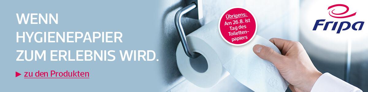 Fripa Toilettenpapier - So stark kann sanft sein.