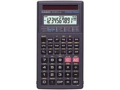 CASIO Schulrechner FX-82SOLAR Solar/Batterie 144Funktionen sw