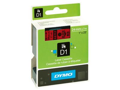 DYMO Schriftbandkassette D1 S0720970 24mmx7m sw auf rt