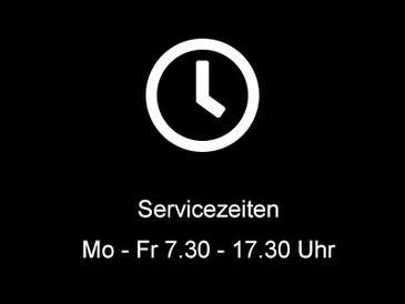 Teaser-Servicezeiten